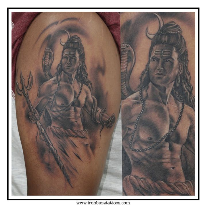 Lord Shiva Tattoo The Lord Is Back Series By Eric Jason: Best Lord Shiva Tattoo Design By Eric Jason D'souza At