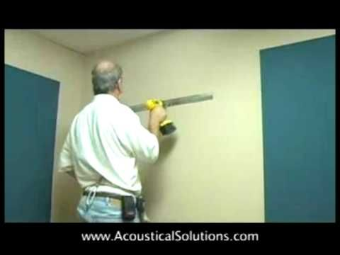 How To Install Acoustical Wall Panels Using Zbar Acoustic Wall Panels Acoustic Wall Acoustic Panels Diy