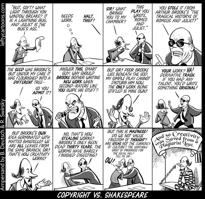 Shakespeare Politics Quotes: Shakespeare Vs Copyright