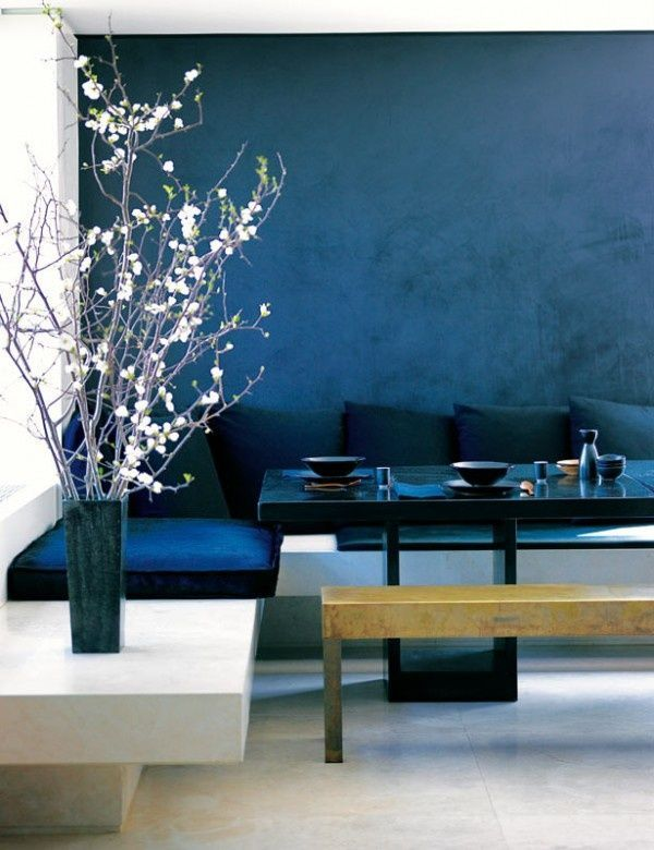 wand streichen in farbpalette der wandfarbe blau farben innenarchitektur haus und wandfarbe. Black Bedroom Furniture Sets. Home Design Ideas