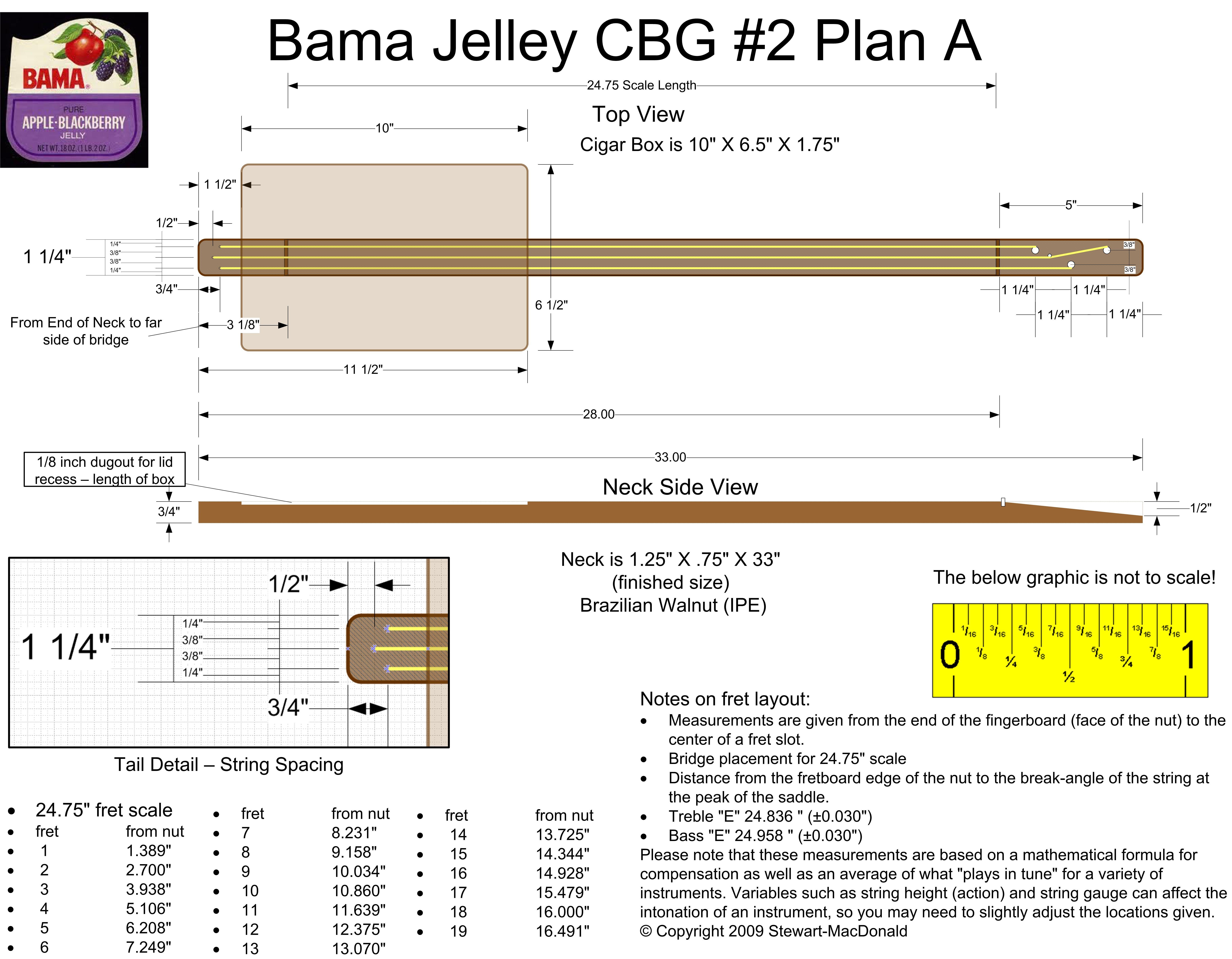 Cbg2a Jpg 6456 5025 Cigar Box Guitar Plans Cigar Box Guitar Box Guitar