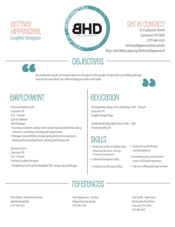 Employment Objectives Pleasing Resume Simple And Effective  Jobby Job Job  Pinterest  Business .