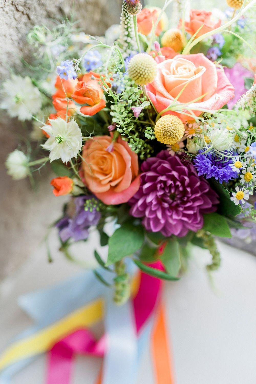 UK Wedding Blog Ideas & Planning Orange wedding flowers