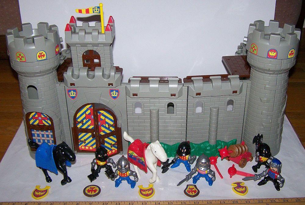 unimax toys. lil\u0027 playmates medieval castle with figures \u0026 accessories ~ unimax toys buildabl #unimax