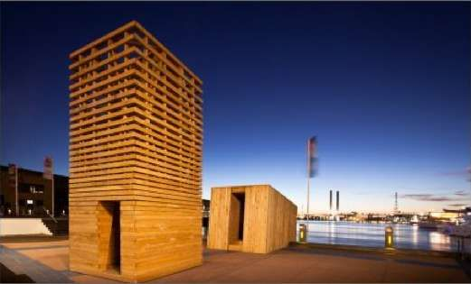 The Sealight Pavilion Project Draws People to Appreciate a Neglected Precinct #eco