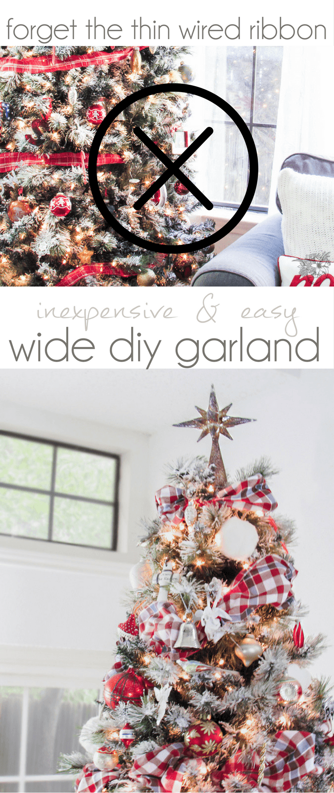 Fast, Inexpensive and Easy DIY Fabric Garland | Xmas | Pinterest ...