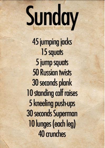 If Your Didn T Make To Boot Camp This Morning Try Doing This Routine At Home Sundayfunday Fullbodyworkout Thursday Workout Daily Workout Plan Daily Workout