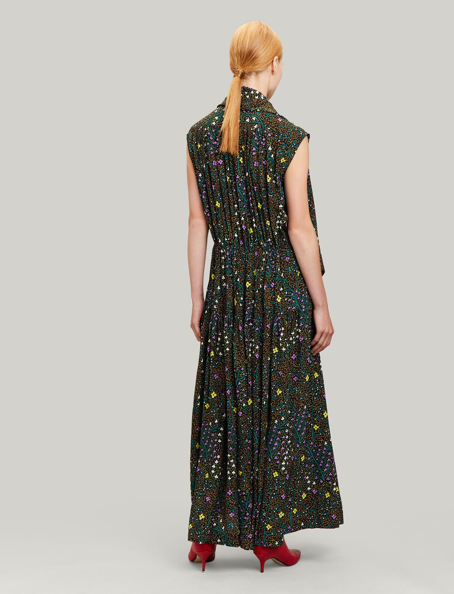 e75e3874ee35c2 Ines Trellis Floral Dress