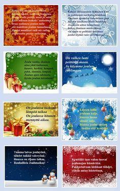 Hauskat Joulurunot