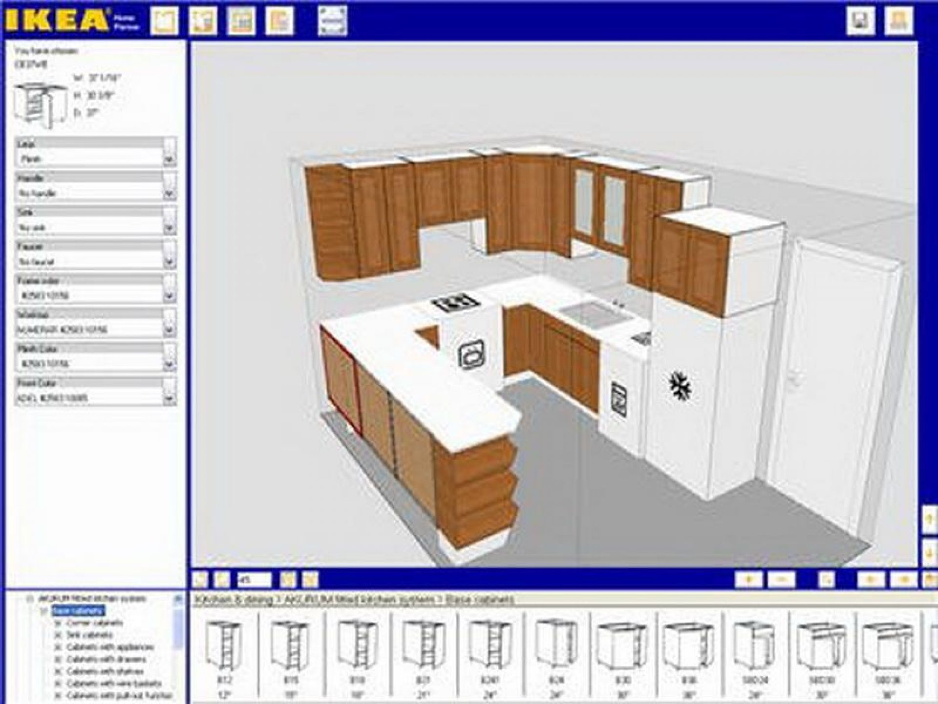 kitchen design layout ikea ideas your own house appealing shaped ...