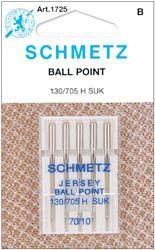 Ball Point Machine Needles Size 10/70 5/Pkg