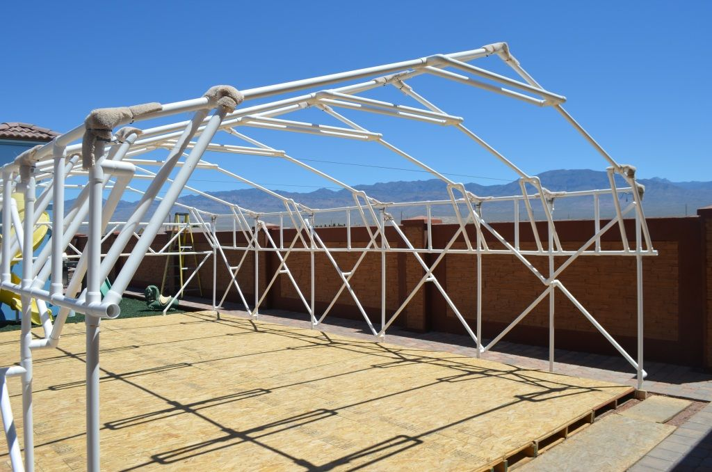 1 Flexpvc Com Projects Structures Canopies Ladders Dog Jumps Beds Chicken Cages Awning Robots Underwater Roof Framing Chicken Cages Modern Roofing