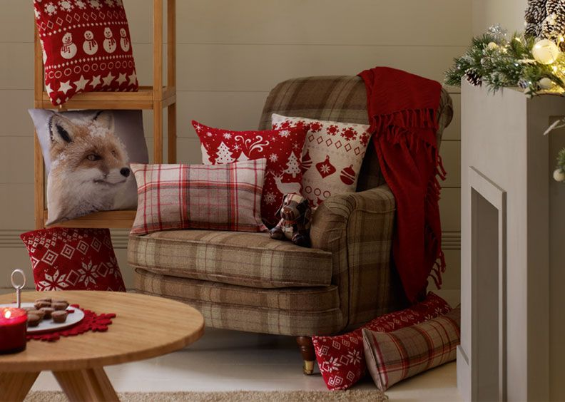 Christmas living room ideas home accessories home - Marks and spencer living room ideas ...