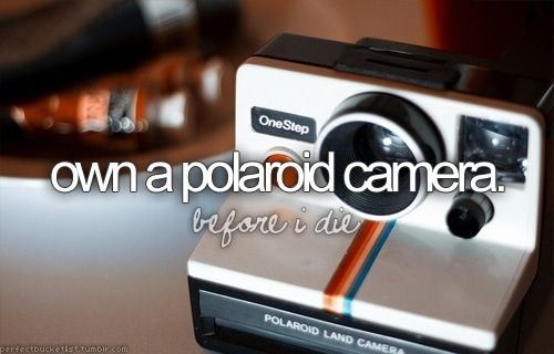 I wanna be a photographer