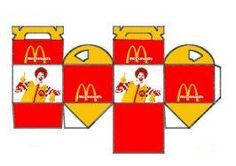 Printable Mini Mcdonald S Happy Meal Doll Crafts Miniture Things