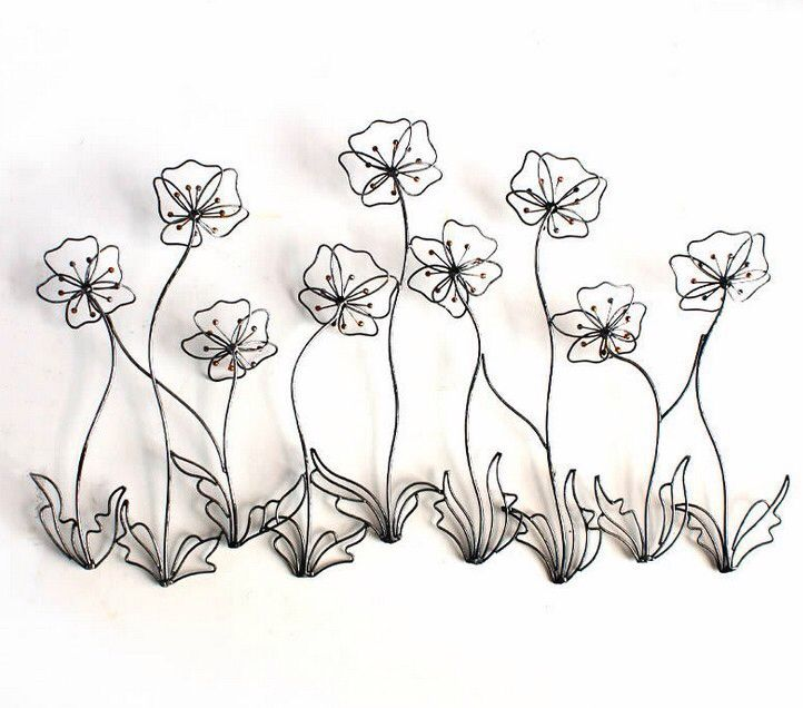 Flower Abstract Art Quality Metal Wall Modern Directly From China Gl Flowers Suppliers El Creative