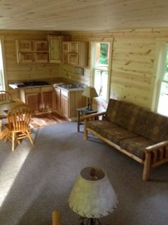 small-cabin com forum picture  16x24 with sleeping area in loft