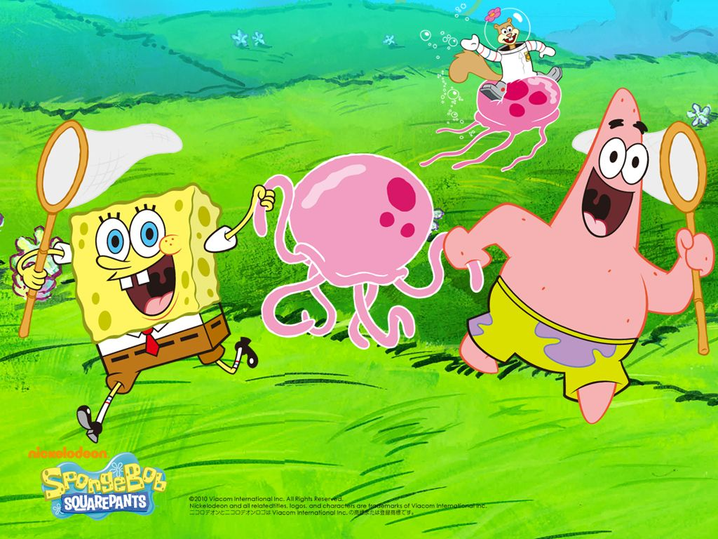 Jellyfish dance spongebob squarepants wallpaper