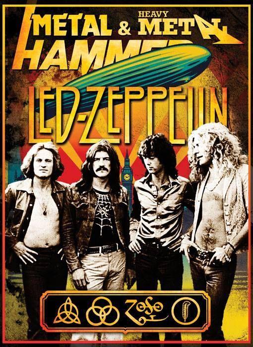 Led Zeppelin Rock Gods Yes Led Zeppelin Poster Led