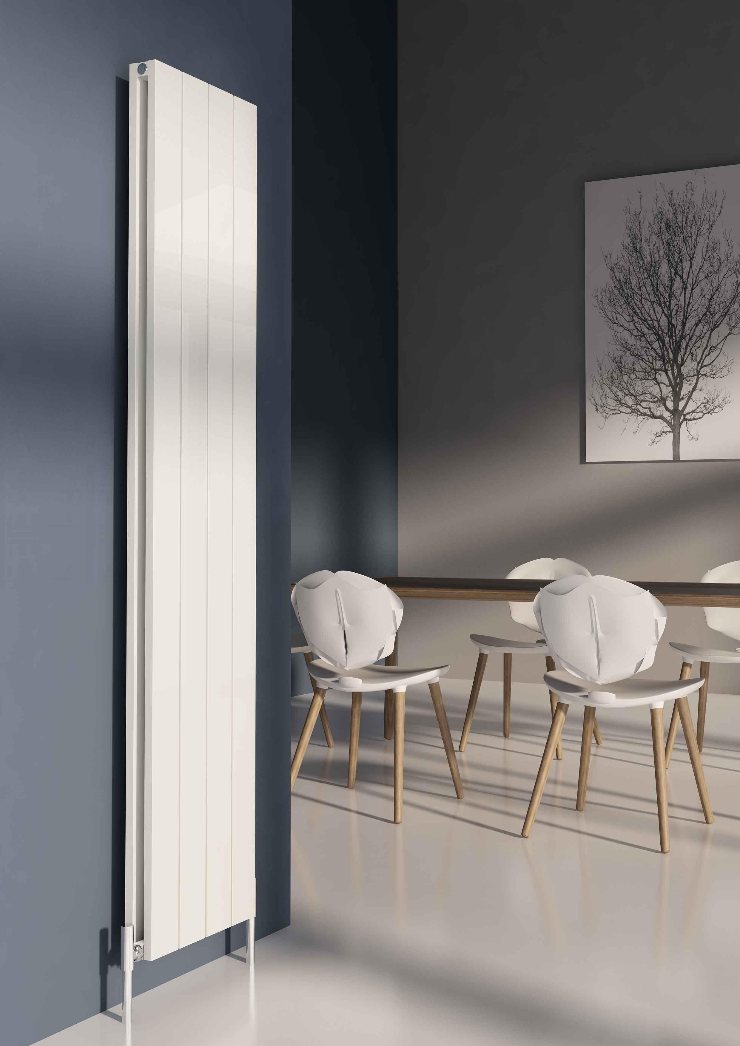Designer Living Room Radiators: Carisa Nemo Double Vertical