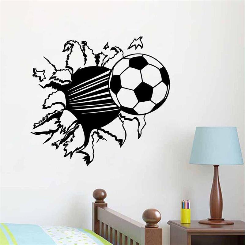 vinilos futbol para habitacion nios buscar con google