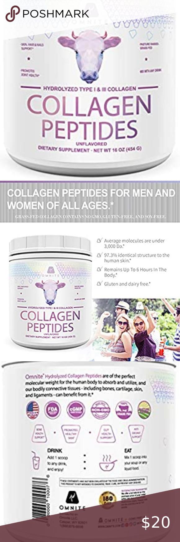 Omnite Collagen Peptides In 2020 Collagen Peptides Peptides Collagen Hydrolysate