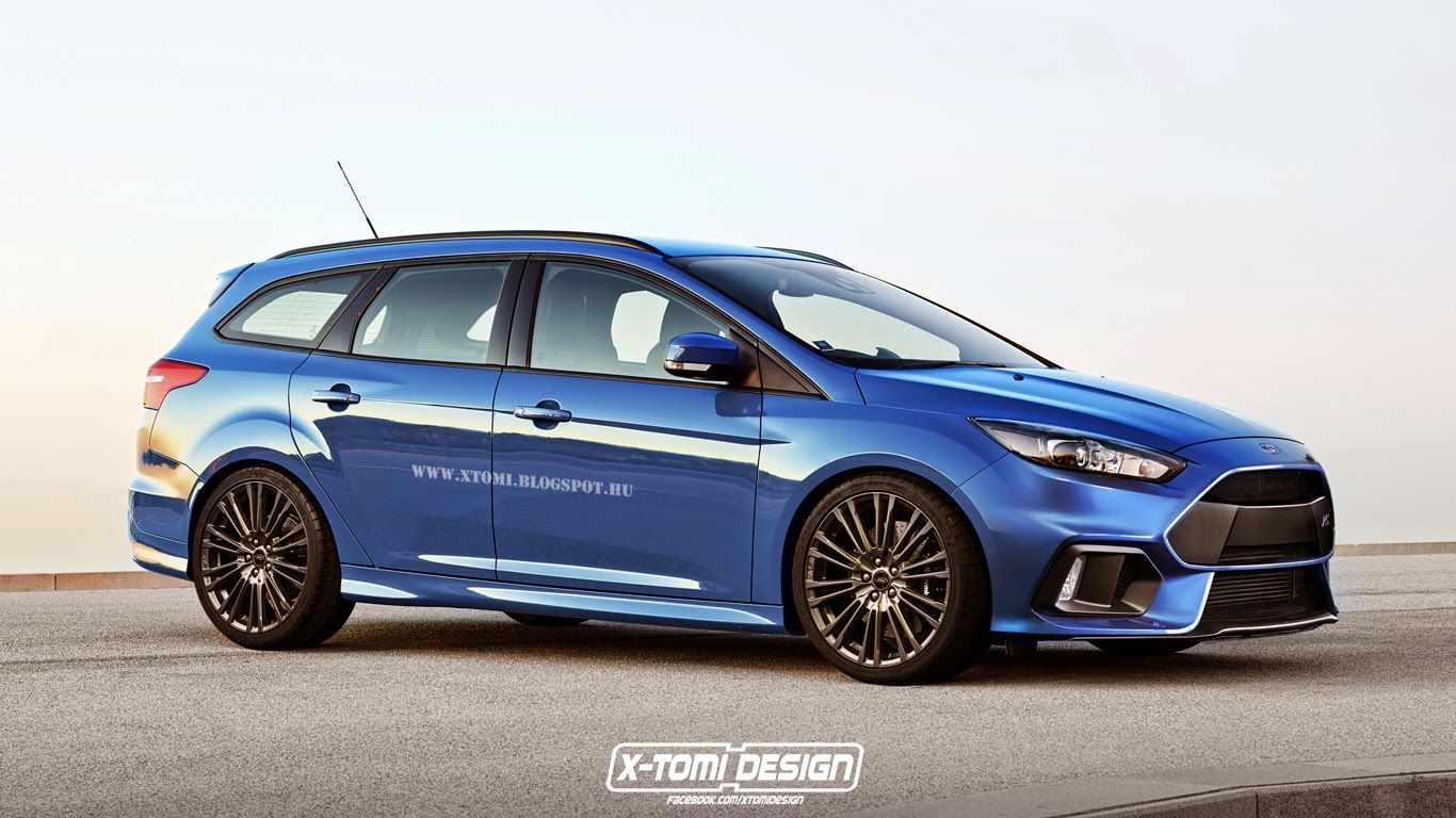 We Know You D Love A Ford Focus Rs Estate And Sedan So Here They