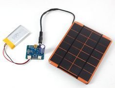 Solar Panel Preparation | USB, DC & Solar Lipoly Charger | Adafruit Learning System