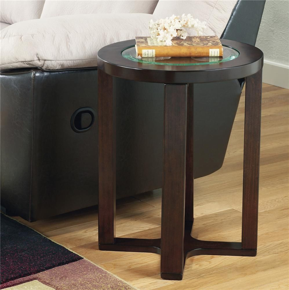 Marion Glass Round End Table At Belfort Furniture Cosas Para Comprar Sala Compras [ 1000 x 997 Pixel ]