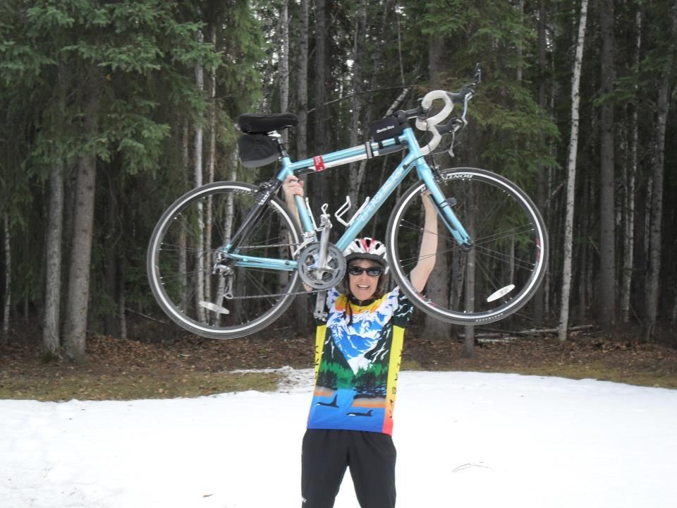 Alaska Coastal Cycling Jersey Bike jersey, Cycling