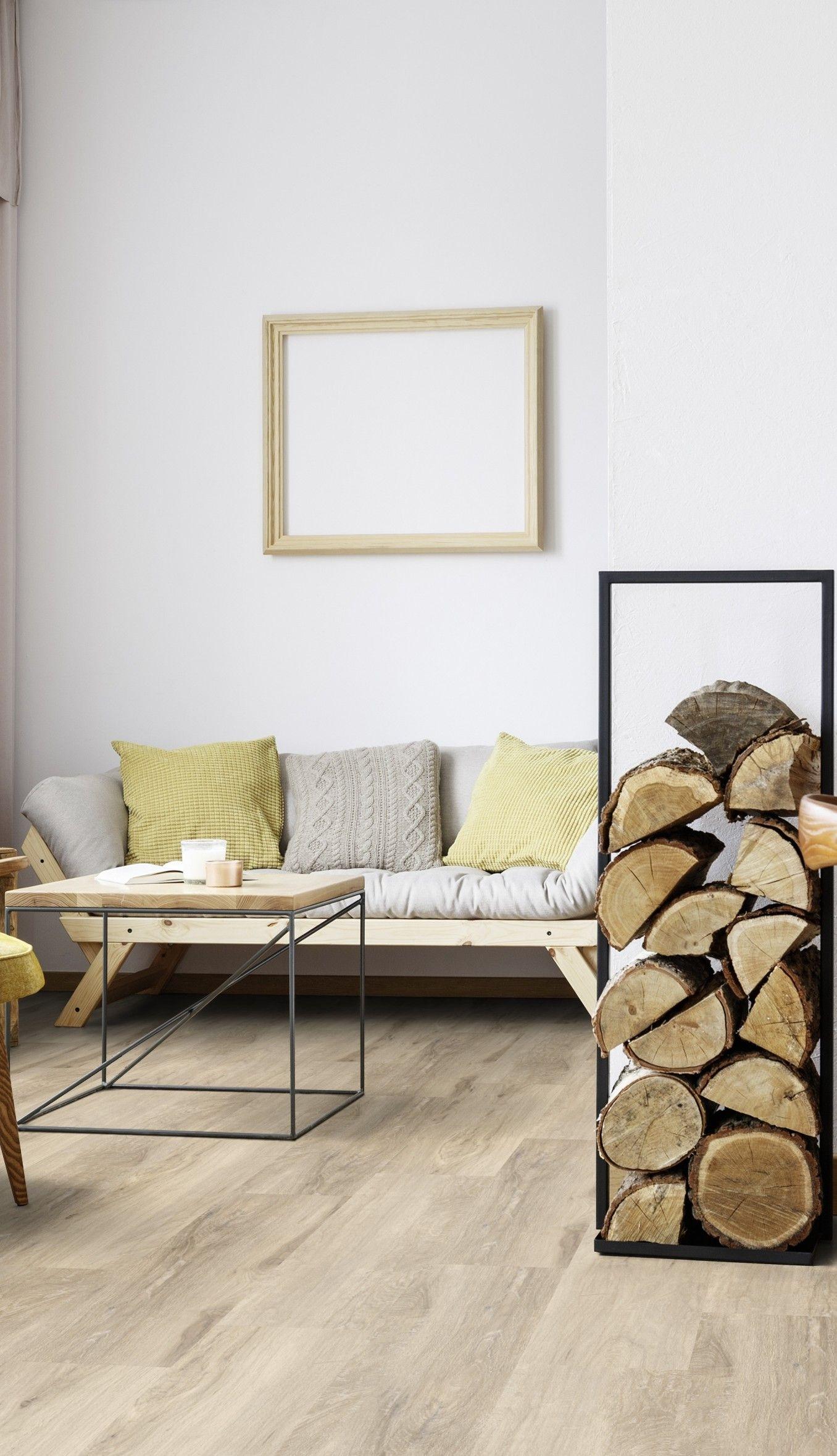 Gerflor Senso Clic Premium 0829 Chene Authentic Blond Lame Pvc Clipsable Dalle Vinyle Et Idees Pour La Maison