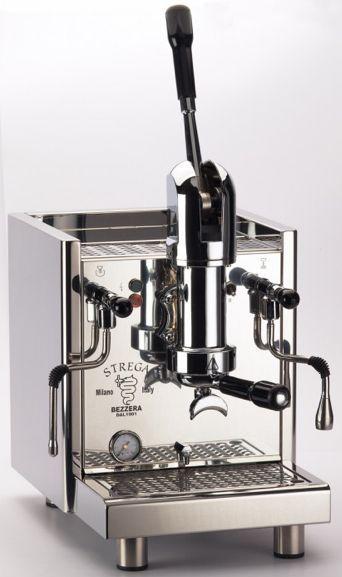 Bezzera Strega Spring Lever Espresso Machine For Your Home Or Office Espresso Machine Cappuccino Machine Coffee Machine