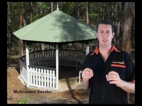 gazebo unlevel ground Google Search in 2020   Gazebo ... on Unlevel Backyard Ideas id=70128