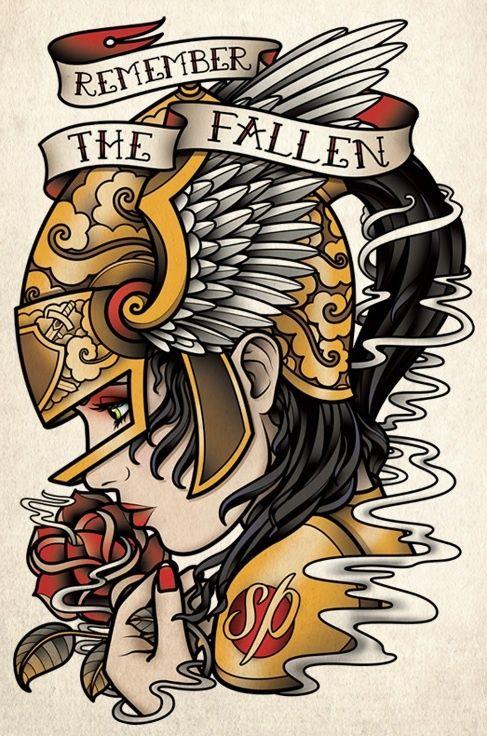 Old School Flash Vichs Tatuajes Tradicionales Tatuajes De La