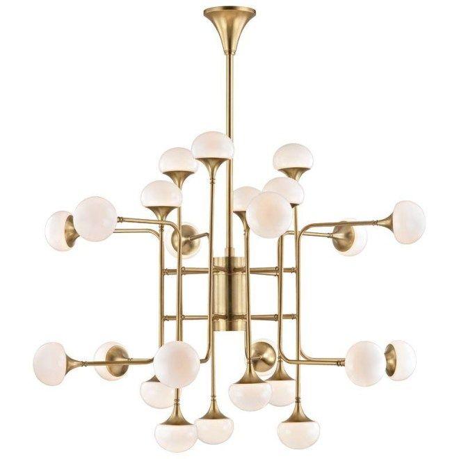 Mid century modern light fixture