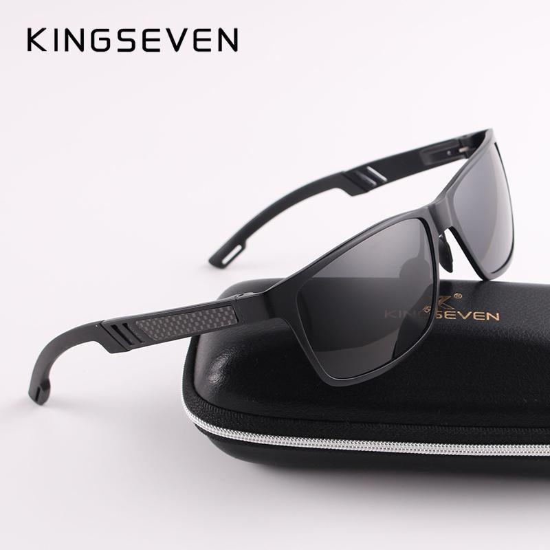 7d0c0b87b27 2017 New KINGSEVEN Polarized Sunglasses Men Brand Designer Male Vintage Sun  Glasses Eyewear oculos gafas de sol masculino N7180. Yesterday s price  US  ...