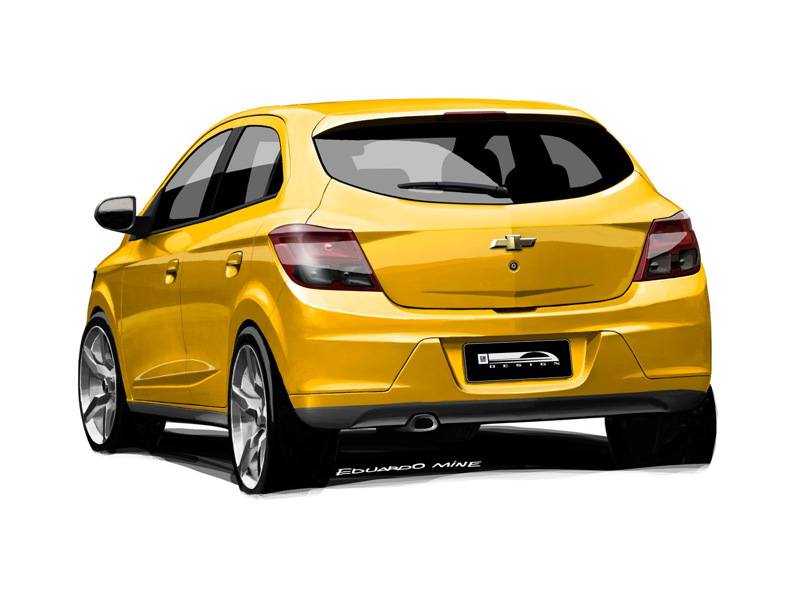 Chevrolet Onix Design Sketch Carro Onix Onix Desenhos De Carros