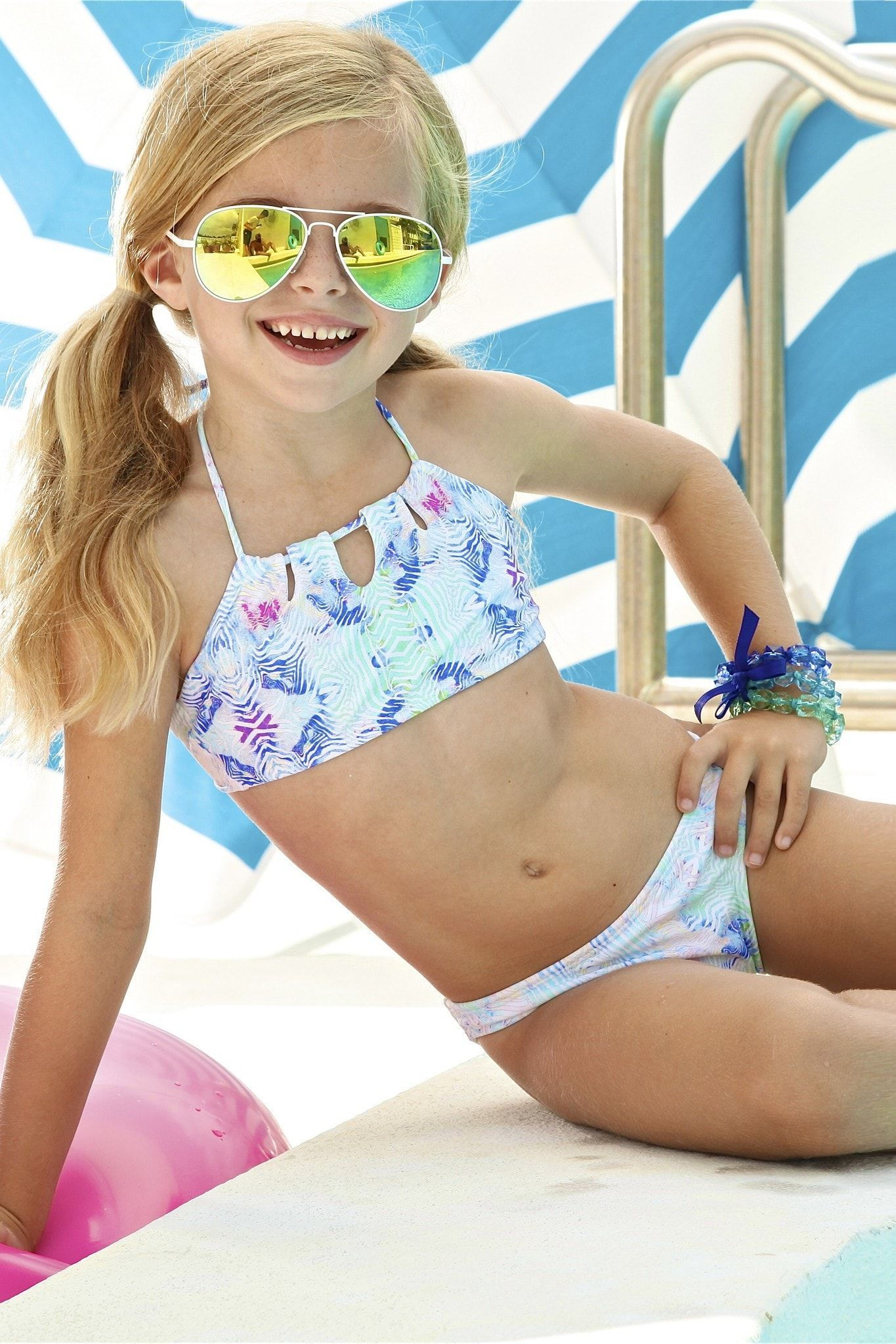 a55905dc2c It's time to style up your little girl in the latest trends. This Little  Peixoto Tamarin Bikini will definitely be on her wish list once she sees it.