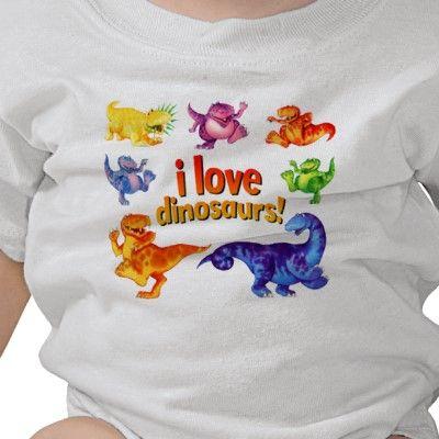 Dinosaur baby creeper from DInosaurStore #dinosaur #dinosaurs #dinosaurstore #paulstickland #dinosaurbaby #dinosaurtshirts #fashion #dinosaurcreeper