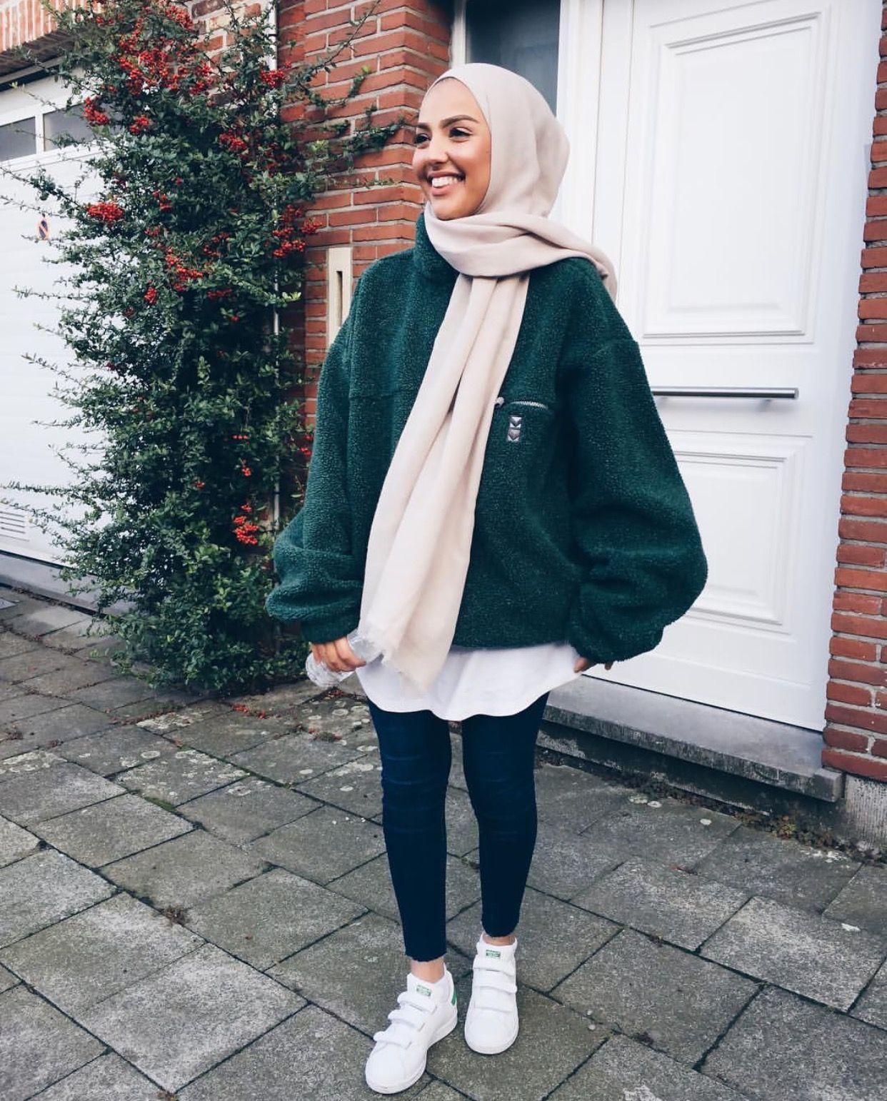 Pinterest @adarkurdish  Hijabista fashion, Muslimah fashion