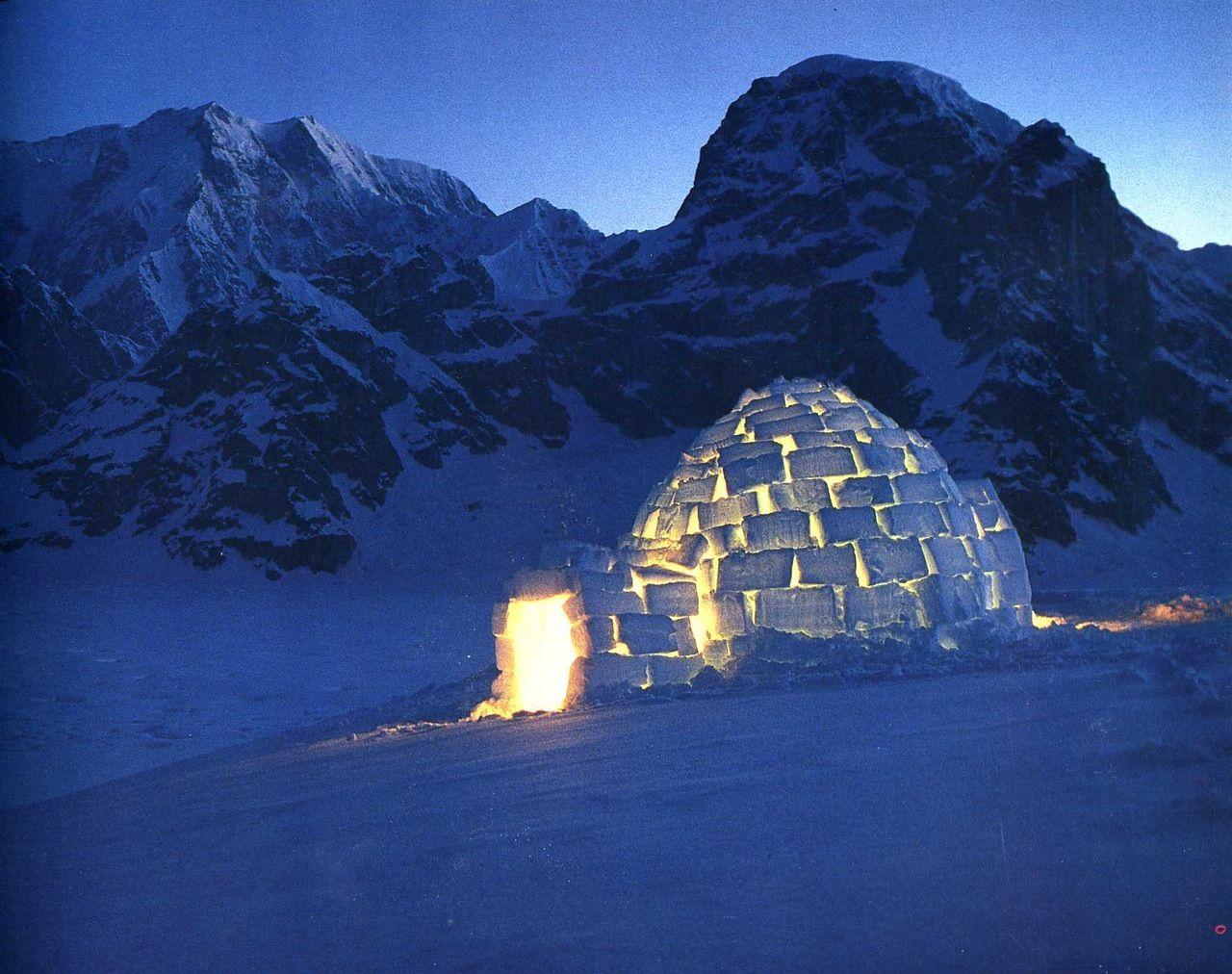 это картинки северного полюса с домами торжественном собрании были
