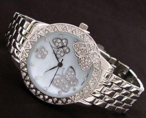 Zegarek Damski Zloty Kwiaty Motyl Swarovski Zk37 4323564376 Oficjalne Archiwum Allegro Accessories Bracelet Watch My Style