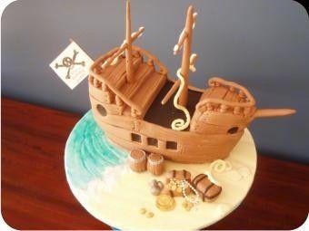pirate cartoon cakes Childrens Birthday Cakes by Imagine cakes