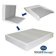 Night Therapy Bi Fold Box Spring Folding Foundation Various Sizes