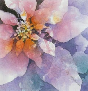 Poured Watercolor With Stephen Blackburn Flower Art Floral