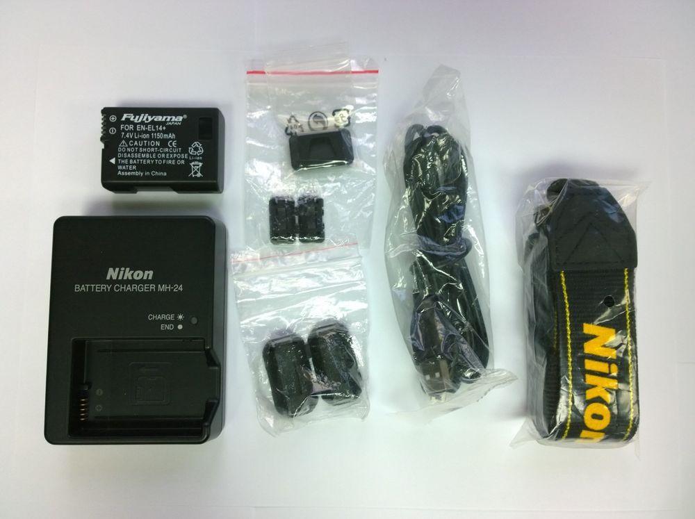 Nikon D60 Dslr Camera 10 2 Mp Body Only Shutter Count 003 Dslr Camera Nikon D60 Nikon Battery