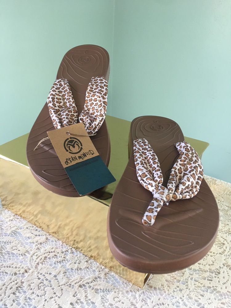 9dd3c30caf19 Ocean Minded by Crocs Size 9 Womens Flip Flop Sandals Wave Seeker Animal  Print  Crocs  FlipFlops  Casual