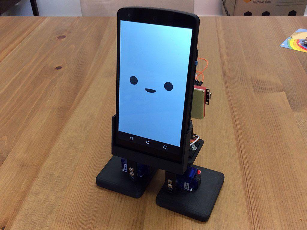 Mobbob Smart Phone Controlled Desktop Robot By Cevinius