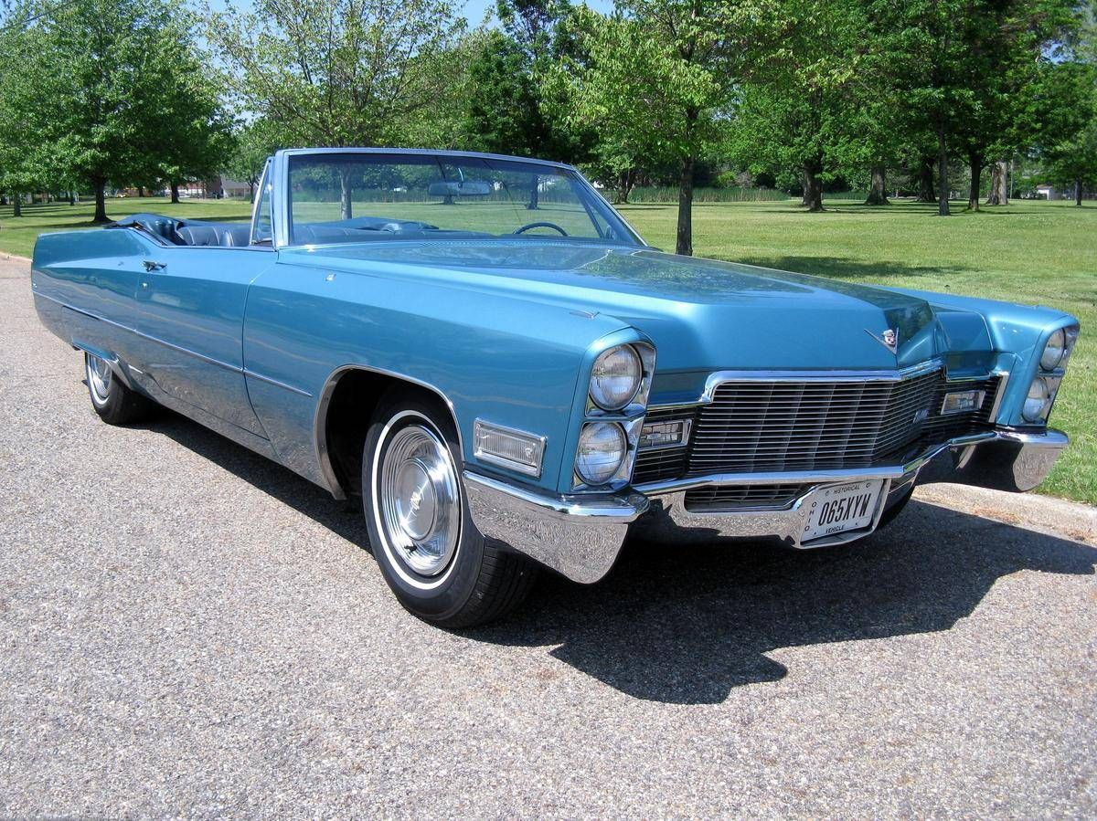 1968 Cadillac Deville Convertible Image 1 Of 50