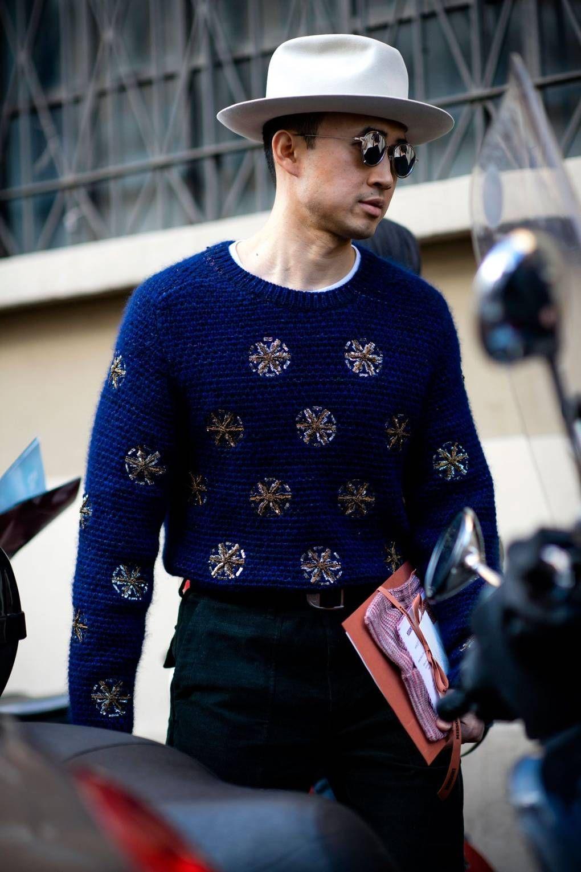 08830d59a7d The best men s street style from Milan Fashion Week Women s AW17 ...